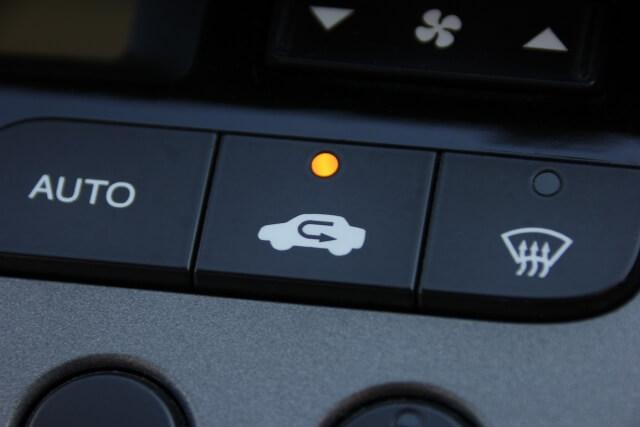 車,エアコン,内気