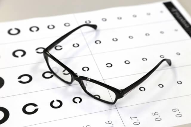 視力とメガネ