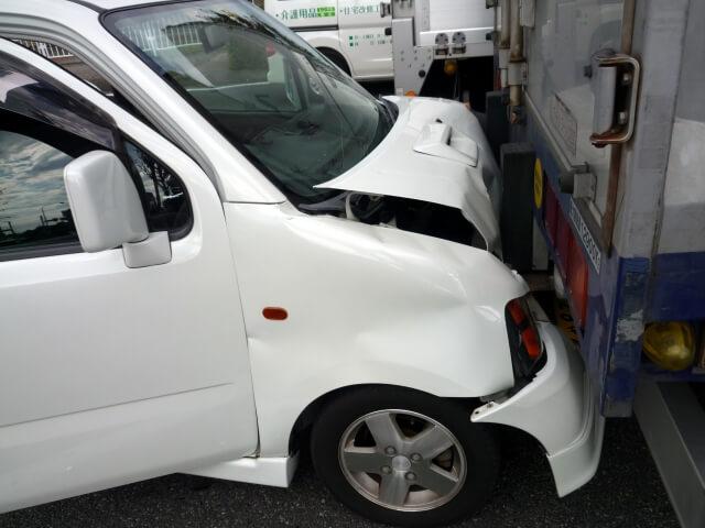 雪道での交通事故